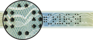 perforation in different shapes